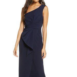 Eliza J One Shoulder Gown 6